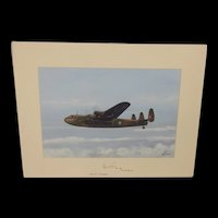 Avro York Acrylic Painting (Signed By WW2 navigator) By Robert Bearman