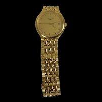 Longines Model L5.649.2 Gold Plated Gents Quartz Watch