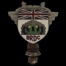 British Racing Drivers Club Car Badge Number 308