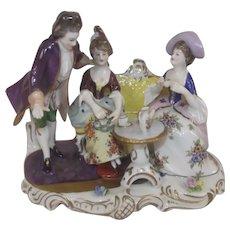 Volkstedt Afternoon Tea Porcelain Figurine Set