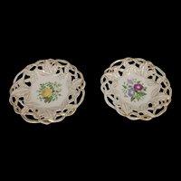 Pair Of Pre-1851 Fredrich Adolph Schuman Plates