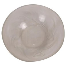 Art Deco René Lalique Calypso Frosted And Opalescent Glass Bowl