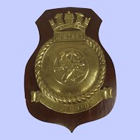 HMS Upstart 1942 Royal Navy U Class Submarine Bronze Badge