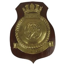 HMS Upstart 1942 Royal Navy U Class Submarine Bronze Badge