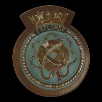 HMS Explorer Submarine Boat Badge