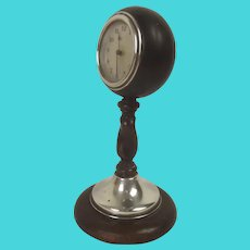 c1927 Silver Mounted Desk Clock