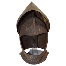 Circa 1580 Continental Probably German Burgonet Helmet