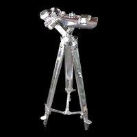 WW2 German 12x60 Carl Zeiss Binoculars With Tripod Stand
