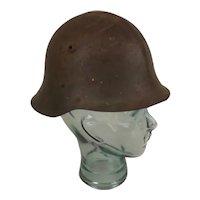 WW2 Italian Mediterranean Helmet With Liner