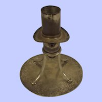 Original Ships Whistle From 1907 Torpedo Boat HMS Dragonfly TB2 Mounted As A Candlestick