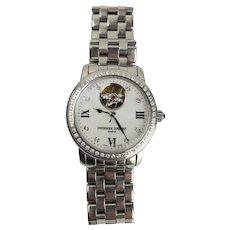 Frederique Constant Diamond Set 'Heart Beat' Wrist Watch With COA