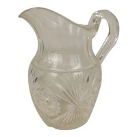 19th Century Cut Glass Water Or Claret Jug