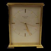 London Garrard Gilt Brass Mantle Clock With Quartz Movement