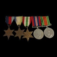 WW2 Medal Group Of Five