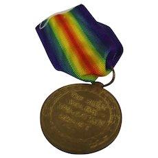 WW1 Victory Medal Private F.F. Davidson