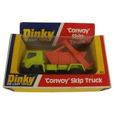 Dinky GB 380 Convoy Skip Truck In Box
