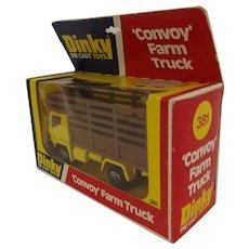 Dinky GB 381 Convoy Farm Truck In Box