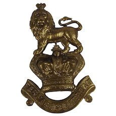 Victorian Royal Marines Pouch Badge