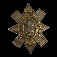Black Watch Officers Cap Badge
