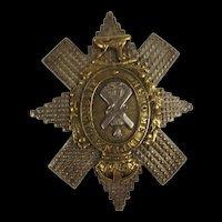 Black Watch Officers Cap Badge