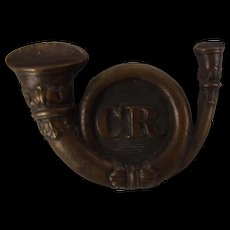 Victorian 1880 Irish Carlow Rifles Glengarry Cap Badge
