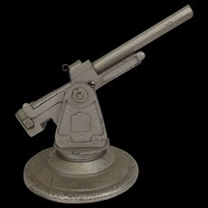 Circa 1955 Bullock Model MSR Toys Ltd Metal Toy Anti-Aircraft Gun