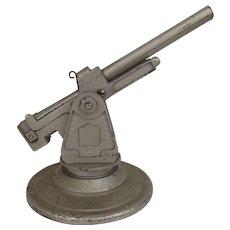 Circa 1955 Bullock Model MSR Toys Ltd Metal Toy Anti-Aircraft Gun