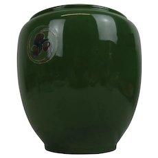 Circa 1910 Moorcroft Flamminian Ware Vase