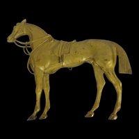 Circa 1850 Gilt Half Horse