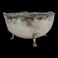 Art Deco Silver Plated Bowl