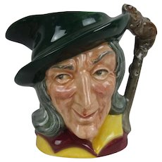 Early Royal Doulton Small Toby Jug Pied Piper  D6462