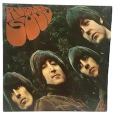 The Beatles Rubber Soul Vinyl LP Mono 2nd Pressing Ex+