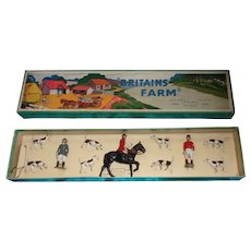 Britains Toy Soldiers Hunting Series Set 1446 The Meet