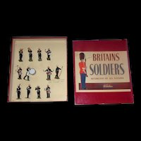Britains Toy Soldiers ROAN Royal Marines Band Set 2153