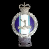 Royal Observer Corps Car Badge By J. R. Gaunt