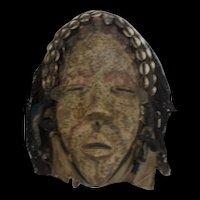 Dan Dean Gle Tribal Mask From Liberia