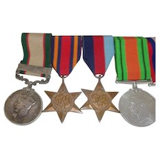 RAF Indian General Service Set Of Five Medals To L.A.C. D.G. Thompson