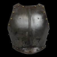 Mid 17th Century English Civil War Breastplate
