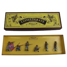 Britains Toy Soldiers American Civil War Confederate Infantry Set 8851