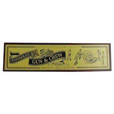 Britains Toy Soldiers American Civil War Confederate Gun & Crew Set 8876