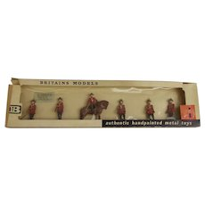 Britains Toy Soldiers Canada R.C.M.P. Dismounted Set 9156