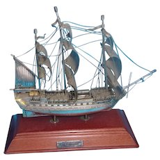 Silver Model Of HMS Victory