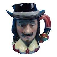 Small Royal Doulton Toby Jug Of King Charles I D 6985