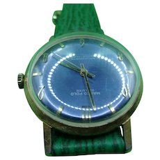 Circa 1960 Marco Polo De Luxe Antimagnetic Ultra Flat Gentlemans Wrist Watch
