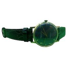 Circa 1960 Marco Polo De Luxe Antimagnetic Ultra Flat Gentlemans Wrist Watch #2