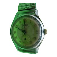 1950's French Stradlings 15 Jewel Manual Wind Gentlemans Wrist Watch