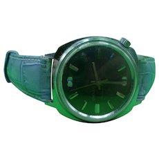 1970's Omnia De Luxe Manual Wind Swiss Made Gents Wristwatch