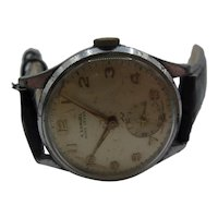 Circa 1960 H. Samuel Manual Wind Stainless Steel Gents Watch