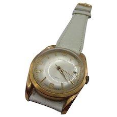 Circa 1970 Swiss Lanco Manual Wind 17 Jewel Gents Watch