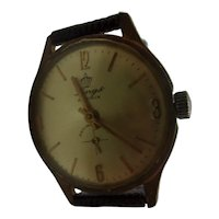 1960's Lings Manual Wind Gold Plated Gents Watch